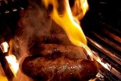 Sausage Searing Off