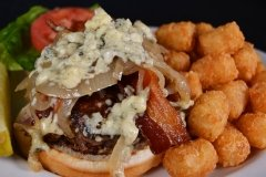 Big 'ol Blue Cheese Burger