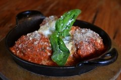Meatballs & Ricotta at Touch of Italy