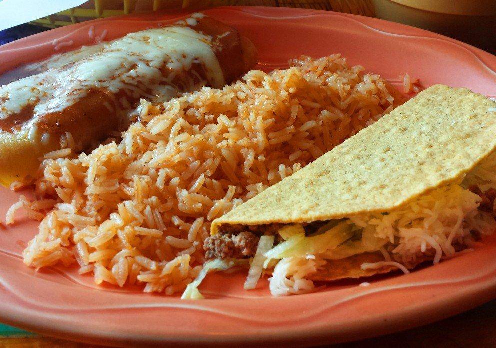 Speedy Gonzales Lunch Platter. Around $6!