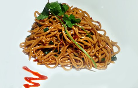 Cold Spicy Noodles. A must-get at Confucius.