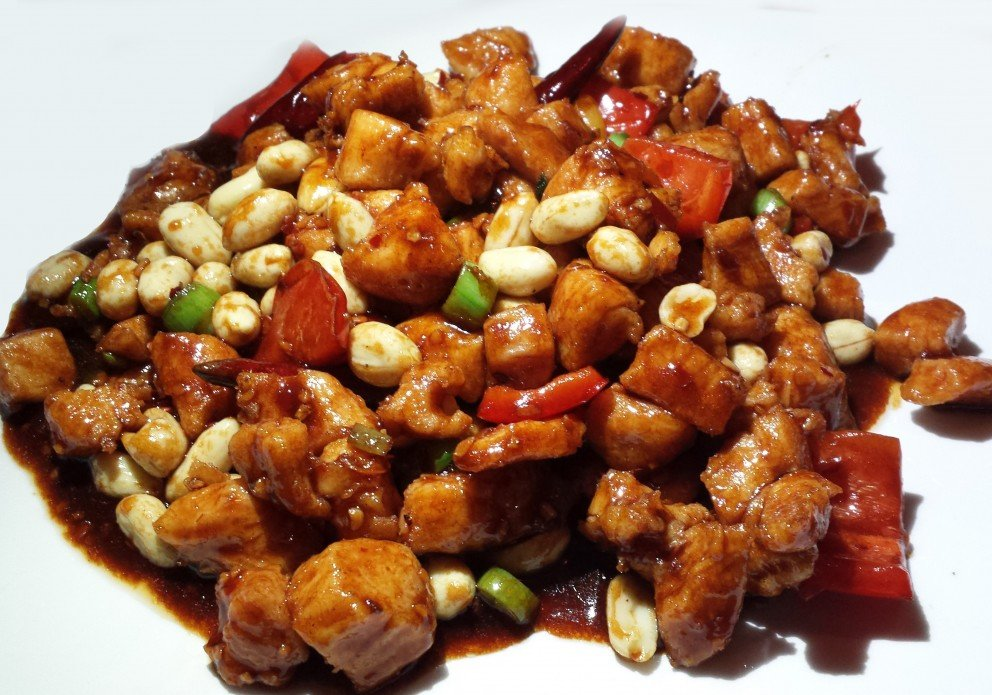 Shawn's impossibly fresh Kung Pao Chix