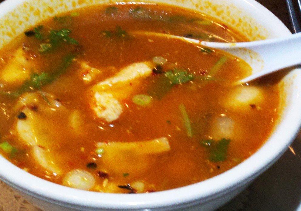 Tom Yum Soup. Don't miss it.