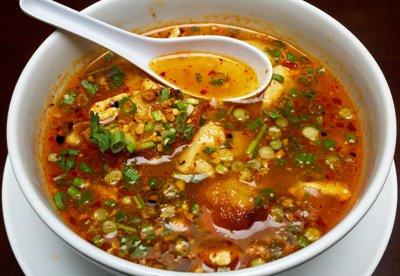 My favorite: Hot Pepper Soup