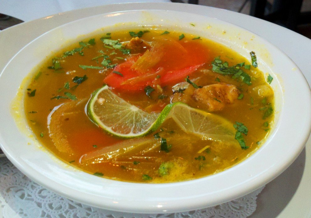 Sopa de Lima. Bright, acidic and delicious