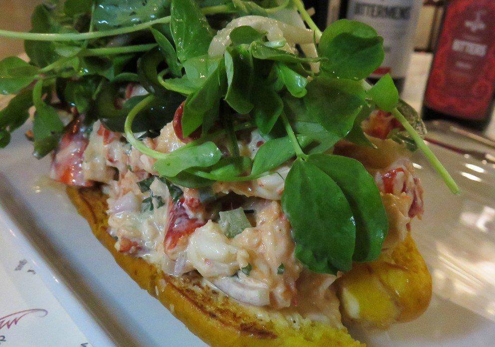 The Thai lobster roll