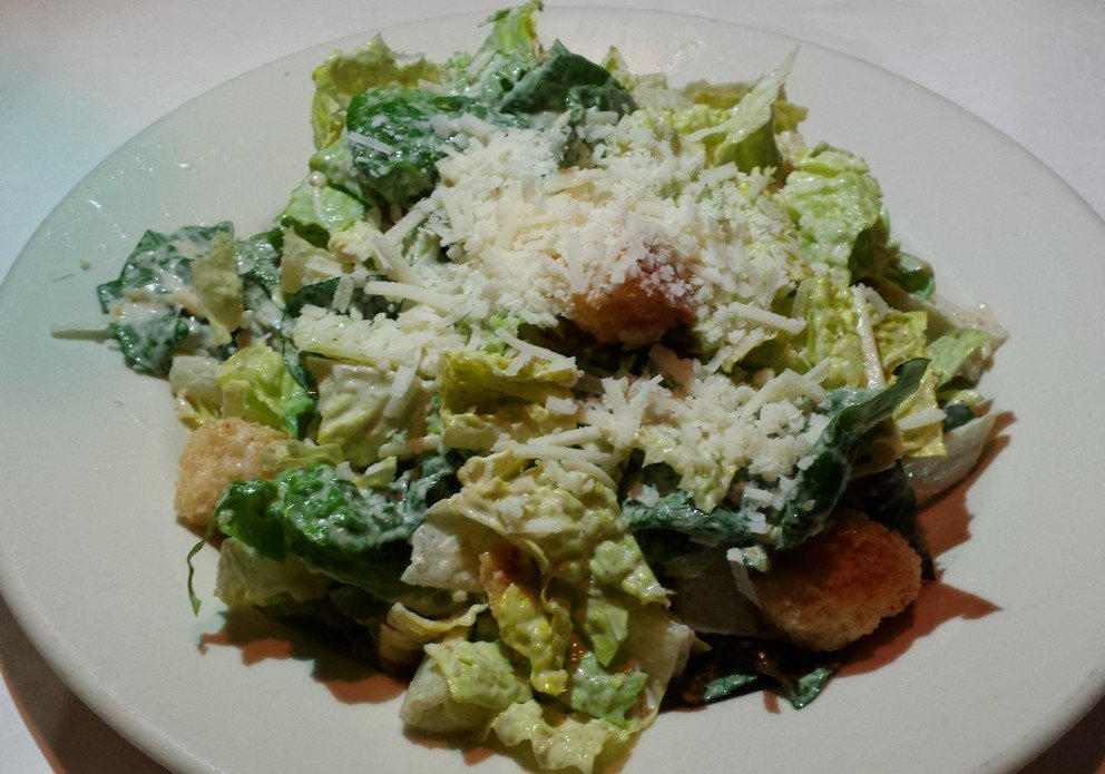 The simple but fresh and delicious caesar
