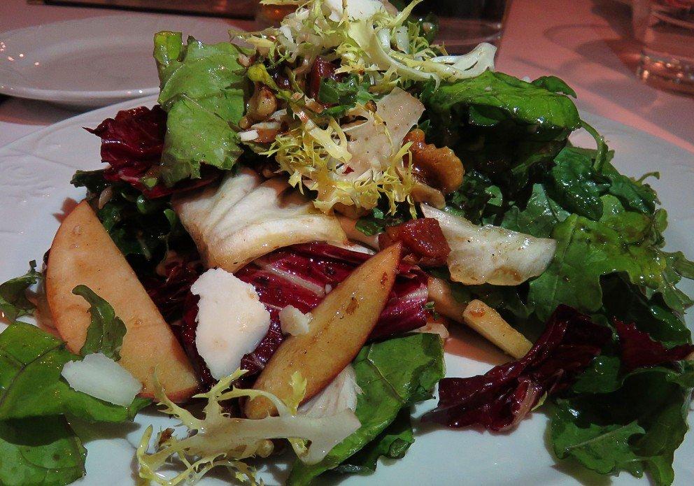 Fall veggie salad