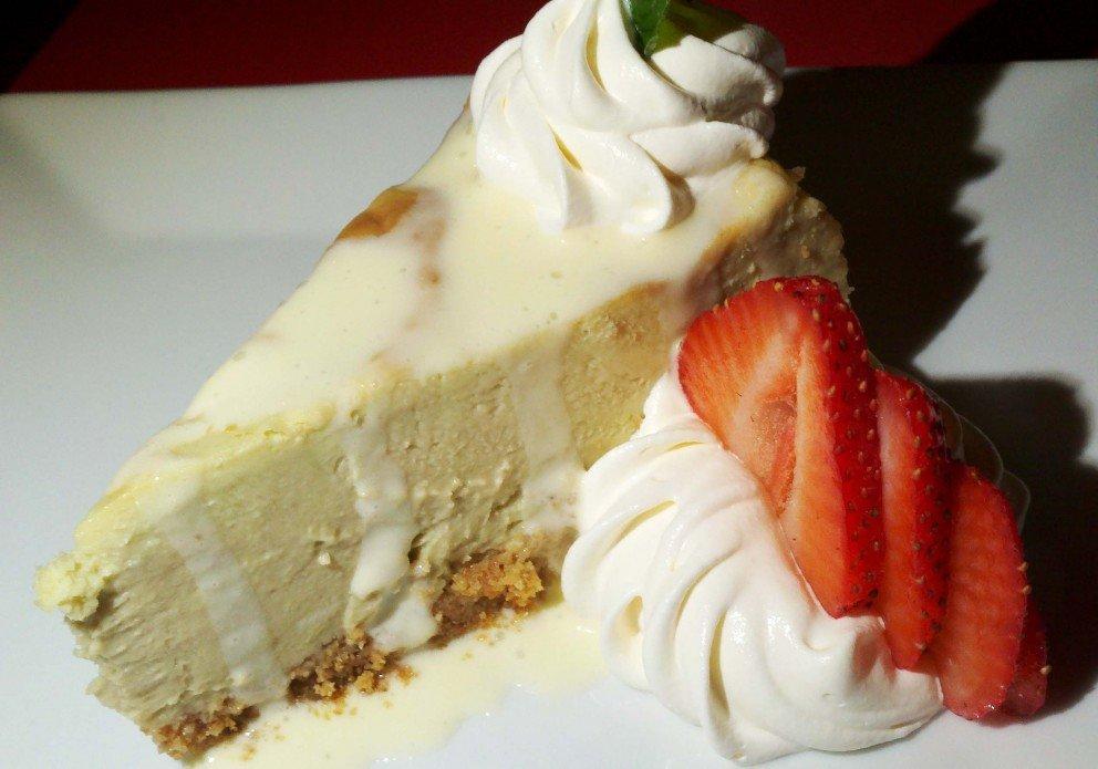 Avocado Cheesecake. HOPE it's on the menu!