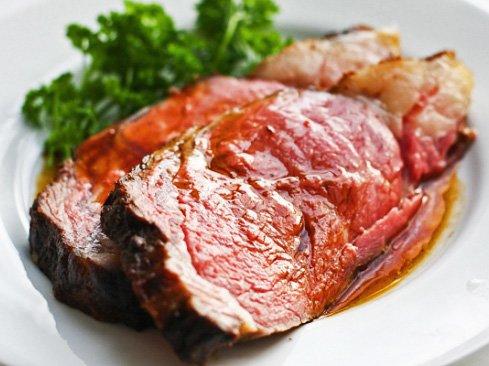 Prime rib night is a bargain