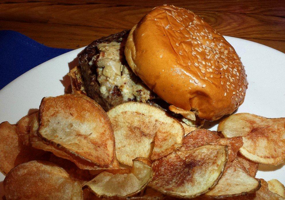 Throwback Tuesday's E-Bomb Burger
