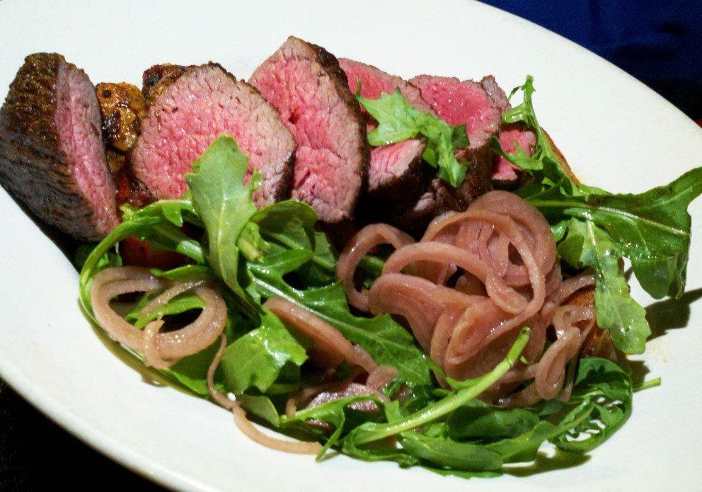 Bistro Steak. Delicious.