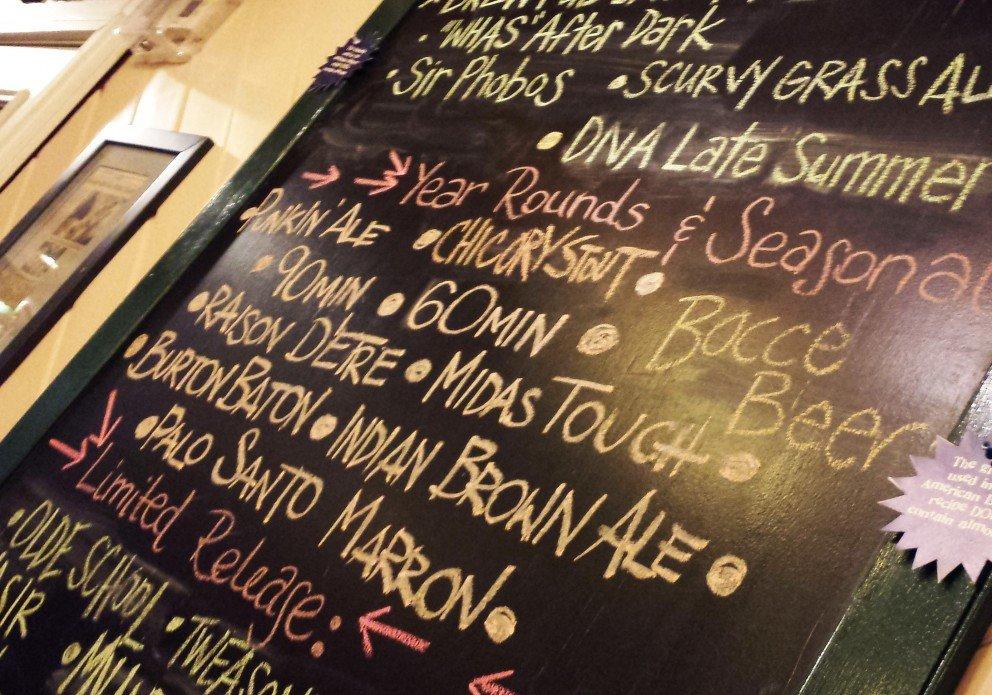 DFH beer board crenh