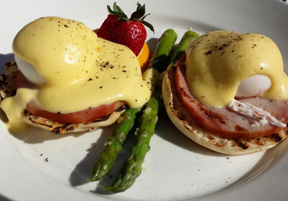 Eggs Benedict: A must-get at Sunday Brunch