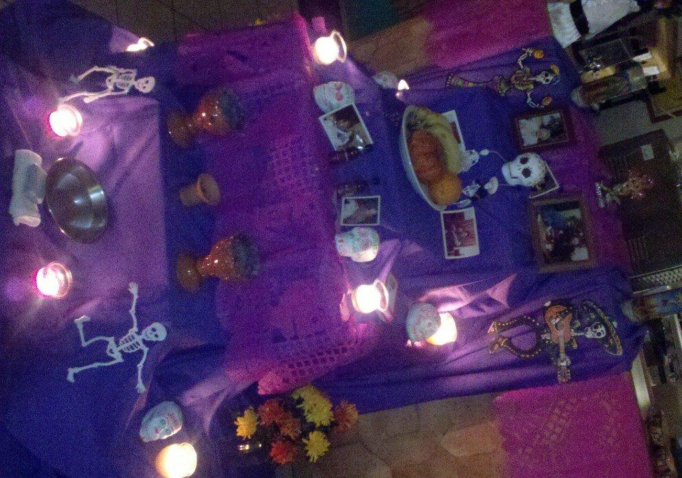 El Dorado celebrates Dia de los Muertos in October.