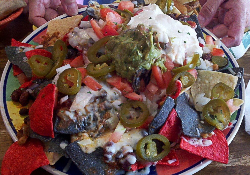 Nachos. Luck of the draw.