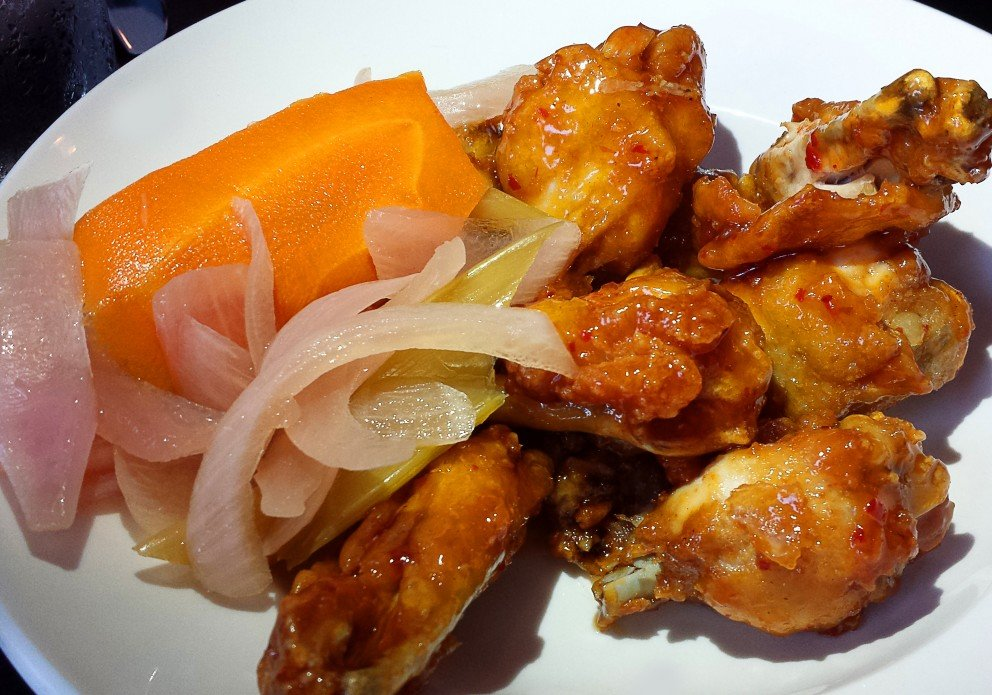 The Thai chili wings