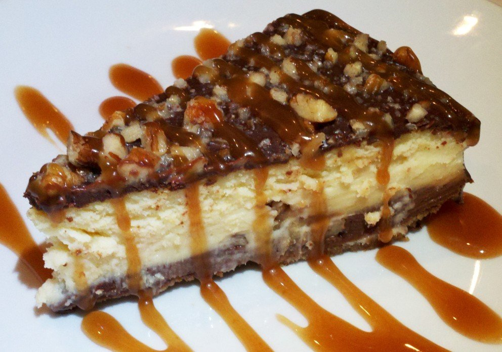 Chocolate turtle cheesecake. Yup, that's it.