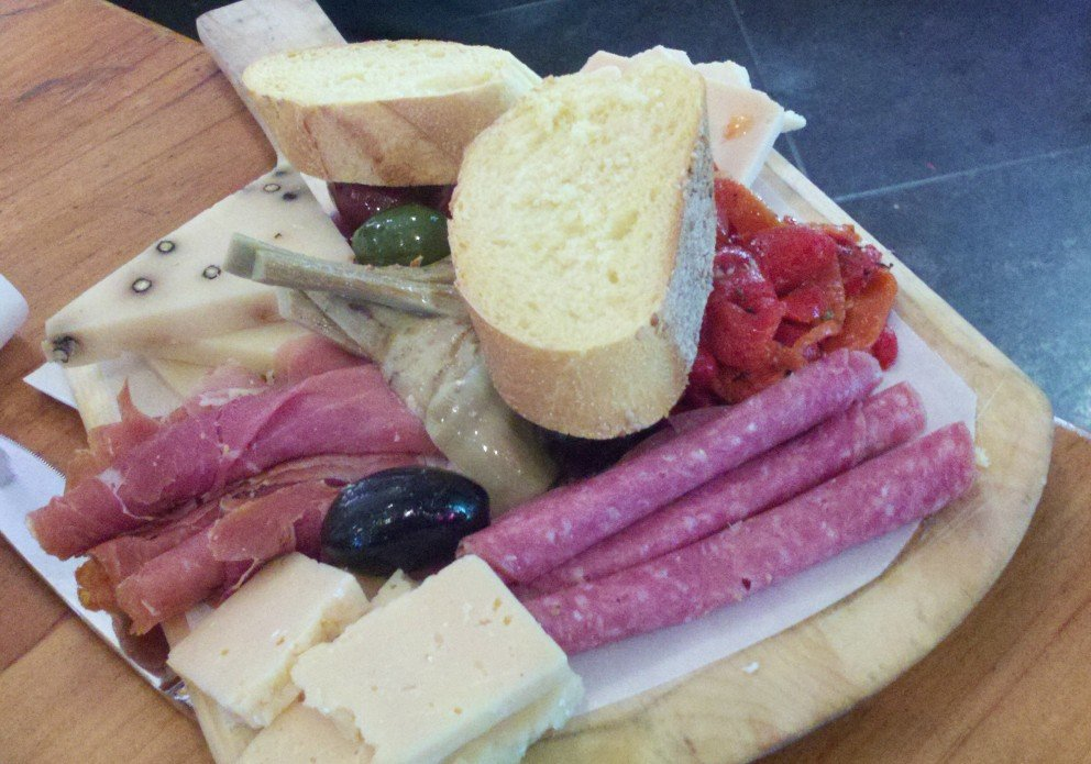 The antipasto at Lewes