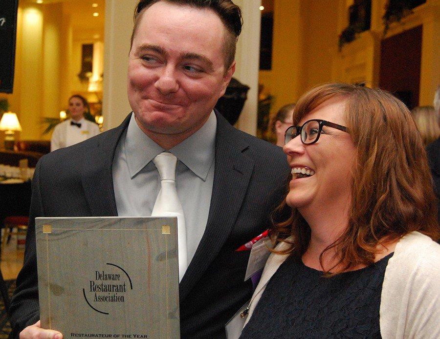 Hari wins the DE Restaurateur of the Year Award