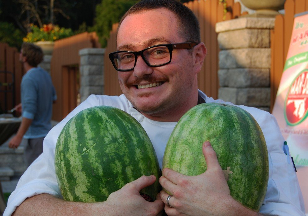 Hari has always been a man who loves melons.