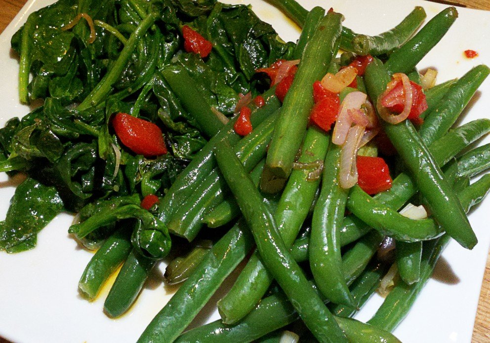 Green beans & broccolini