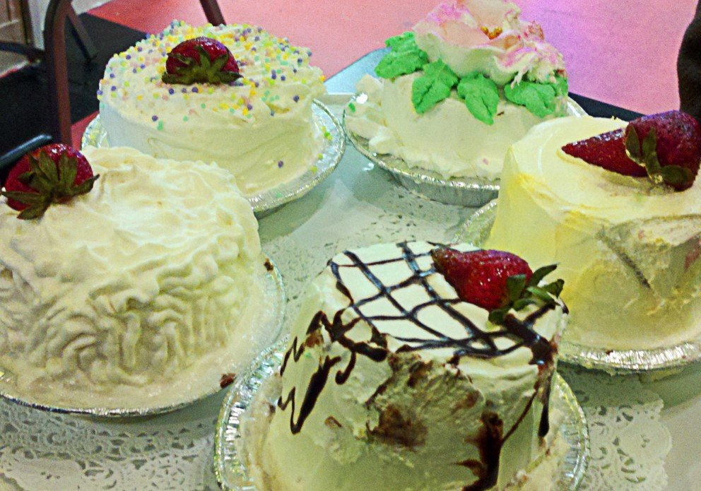 Leo's tres leches cakes. Not always on the menu!