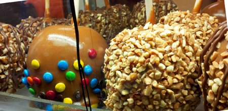 Caramel Apples -- especially in the fall