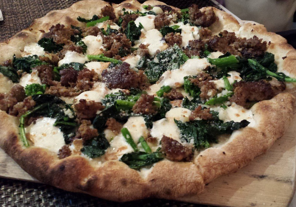 The Il Migliore with broccoli rabe