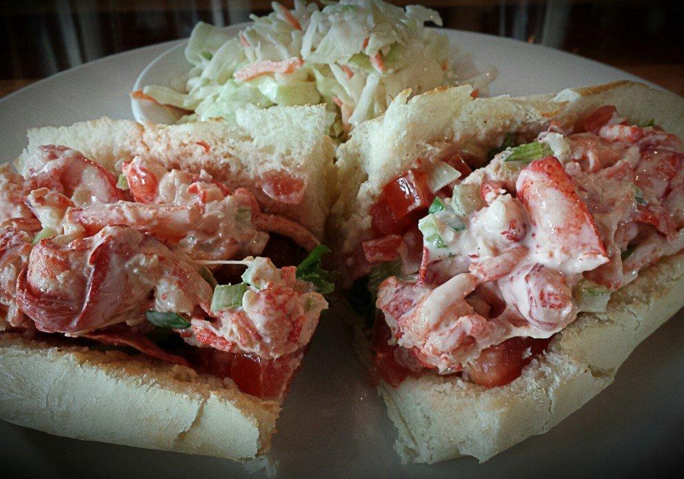 Fins AH&RB lobster rollcrenh