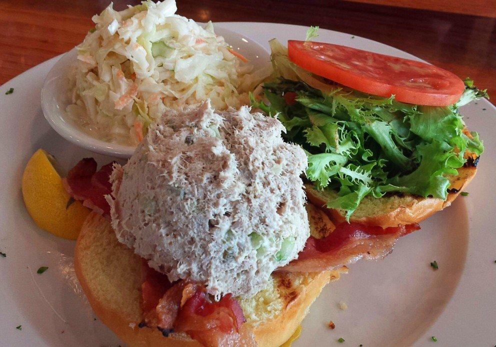 Tuna Salad Club at lunch