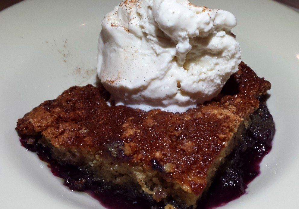 Bread Pudding with jelly, yet.