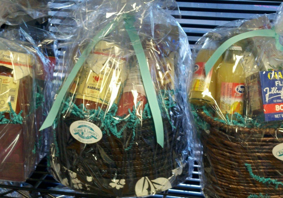 Gift baskets for the holidays