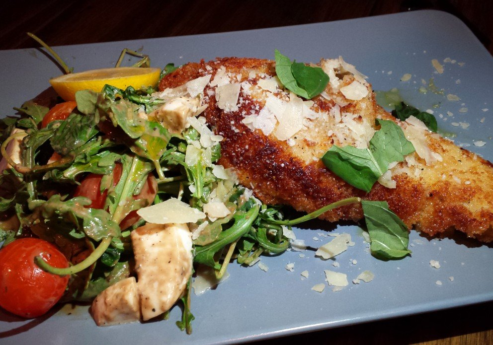 Pan-Seared Chicken Milanese