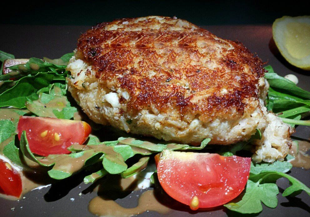 Michy's 3 crabcake2crenh