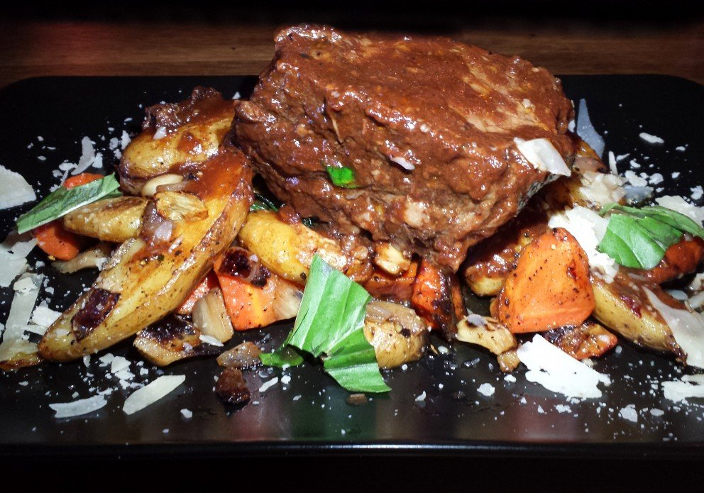 The short rib platter. Reserve one early -- they sell out quickly. Taste it and you'll know why.
