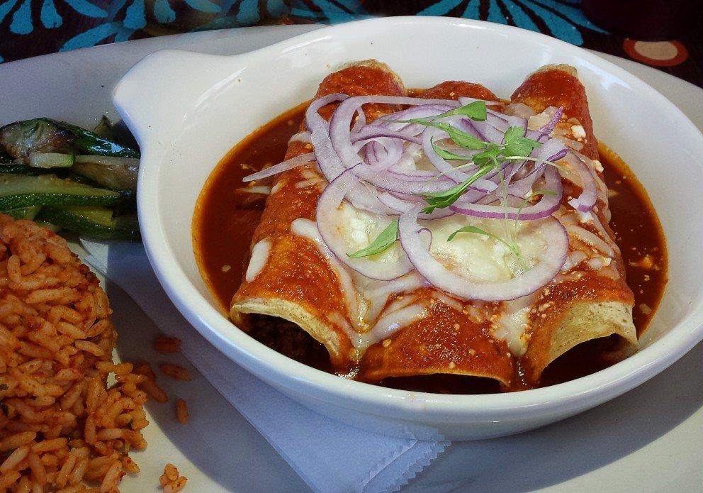 Sloppy Joe Enchiladas