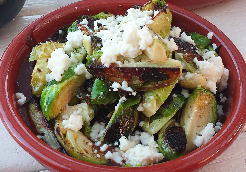 Brussels sprout mole? Really? Yup.