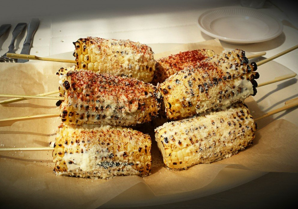 Mexican Street Corn for EatingRehoboth.com tour guests