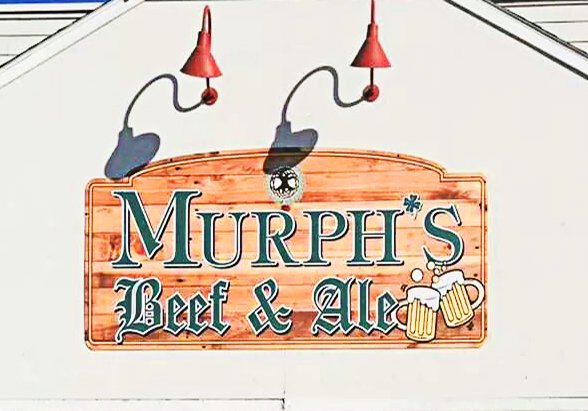 Murphs Beef and ale front signcrenh