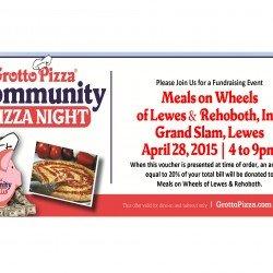 Grotto Helps Feed Neighbors 4/28