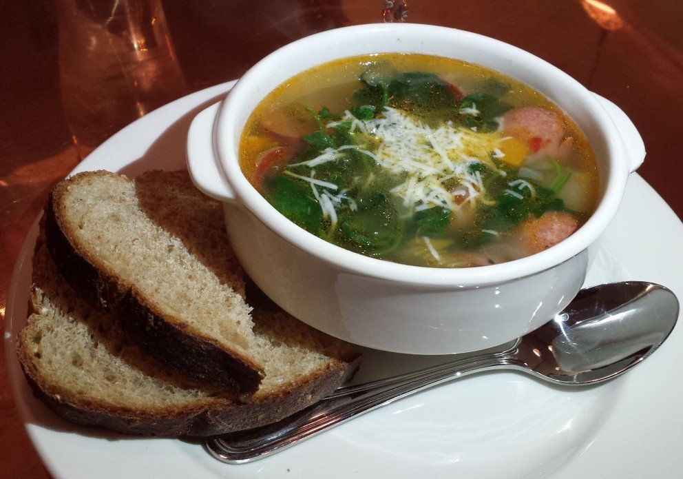 andouille white bean soup