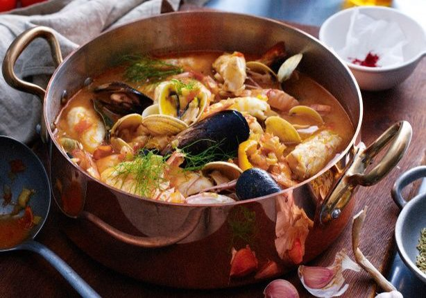 Ahhh...that bouillabaisse! (image courtesy taste.com.au)
