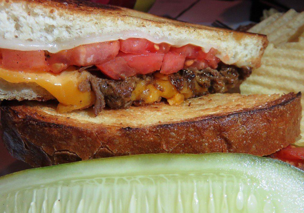 Short rib grilled cheese. Oh, the sourdough!