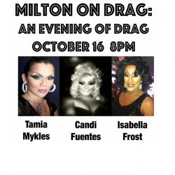 Milton in Drag 10/16