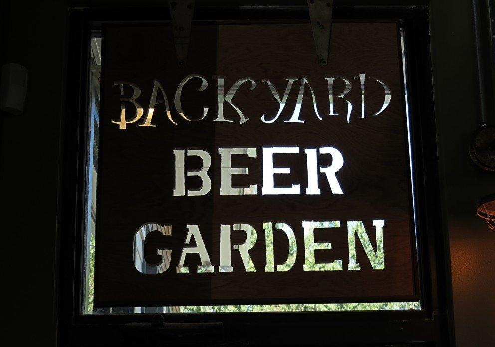 crooked hammock beer garden sign crenh
