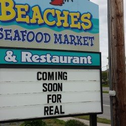 Beaches Opening – Soon…
