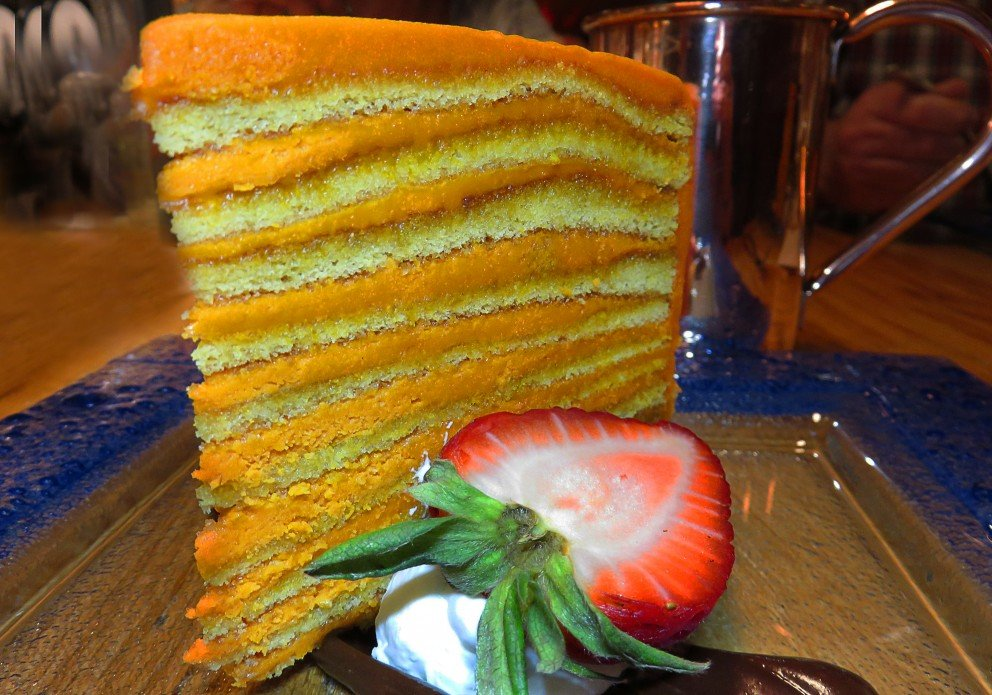 Smith Island Oriole Cake