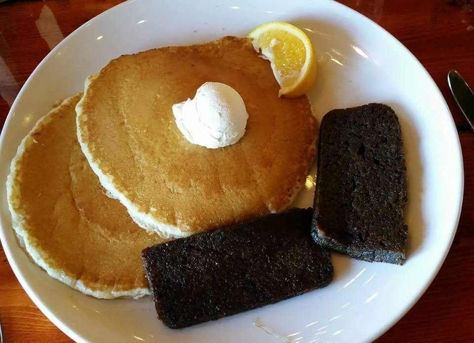 Jimmy's grill RB pancakes scrapple