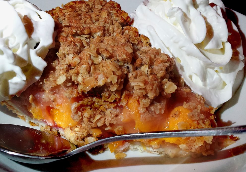 PIE peach piecrenhsized